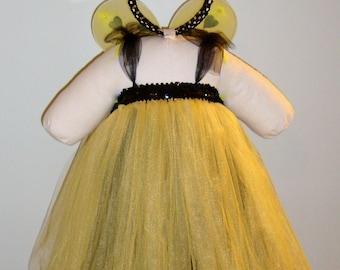 Bumblebee Halloween Tutu Costume