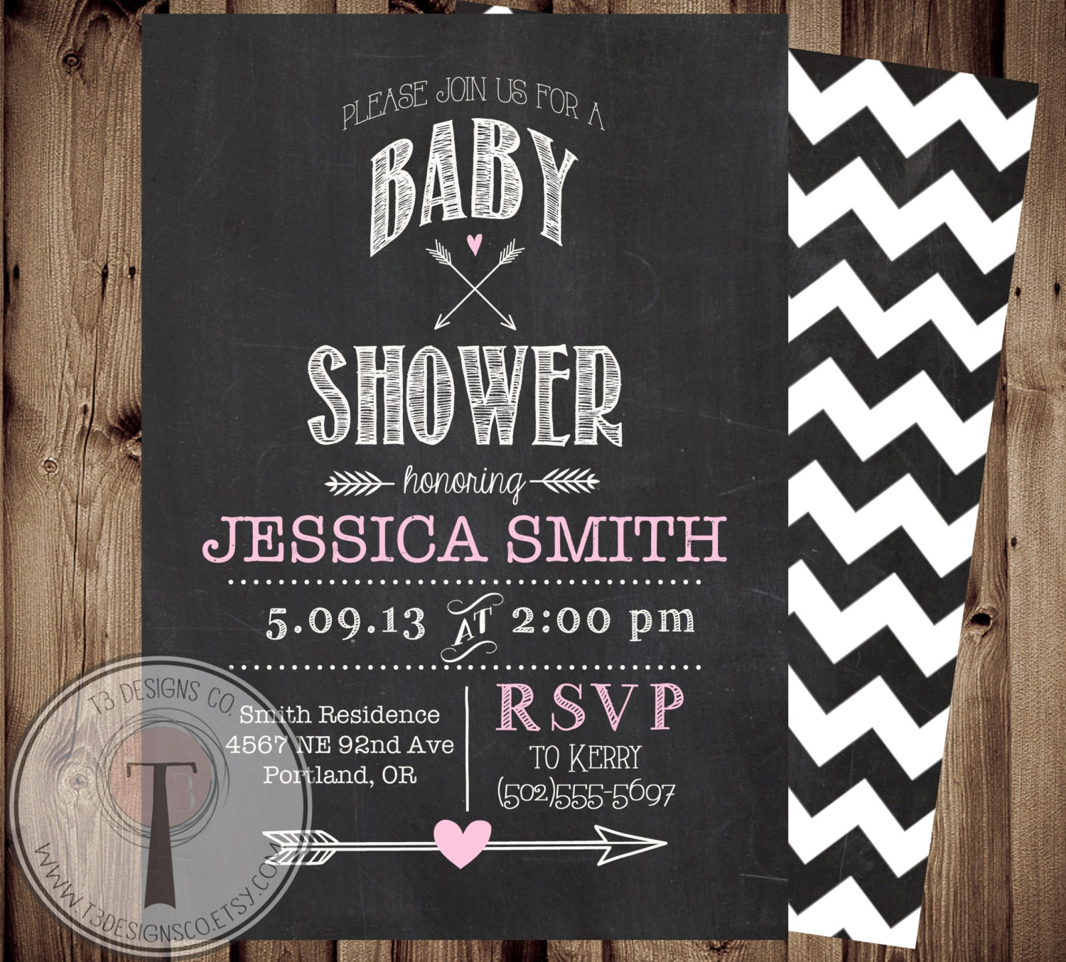 baby girl baby shower invitation chalkboard baby shower invite modern baby shower chalkboard chalk arrows baby girl