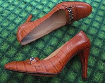 Vintage, vintage BALLY shoes 60 size 36.5