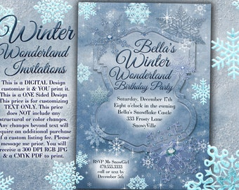 winter wedding invitation december wedding invitation snow