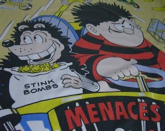 Vintage Dennis the Menace Single Duvet Cover