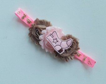 Cowgirl  planner band, cowgirl boot,Cowgirl headband,Country Girl,Horse planner band,Cowgirl birthday party headband,Rodeo Wear