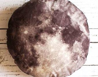 Big moon pillow, moon plush, cosmic pillow