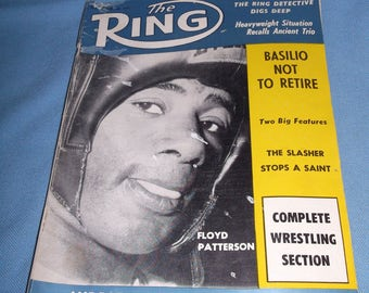 Ring Magazine September 1960 Floyd Patterson