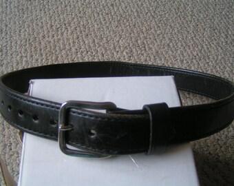 Ted Blocker, Inc. Quality Black leather Belt