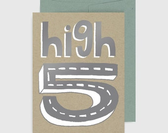 Congratulations Card - High Five