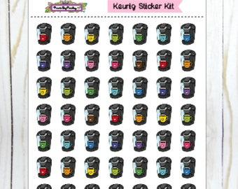 Keurig Sticker Kit