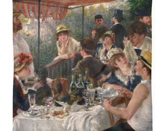 Pierre-Auguste Renoir, Luncheon of the Boating Party - Square Pillow Case only