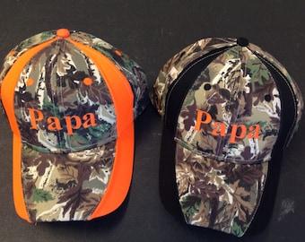 Papa Camo Hat