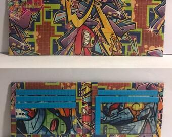 Graffiti Duct Tape Bifold Wallet