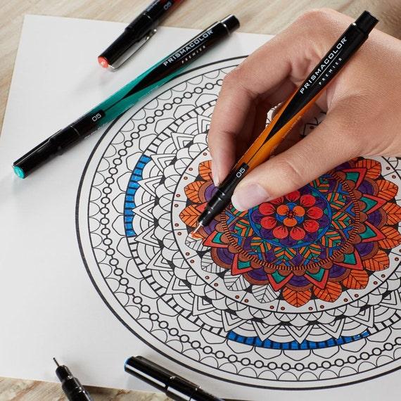 Prismacolor Premier Colored Markers, Set of 8; Fine Tip. Prismacolor ...