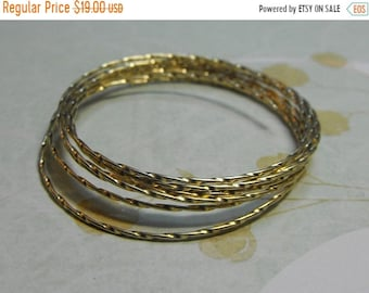 Mothers Day Sale 14Kt Gold Filled Full Hard 20 Gauge Twisted Wire 5 Feet Jewelry Supplies Findings