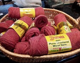 Vintage Pure Shetland wool by Brunswick