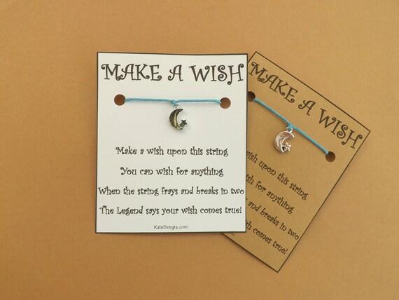 Moon and Star Wish Bracelet