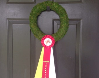 Horse ribbon wreath