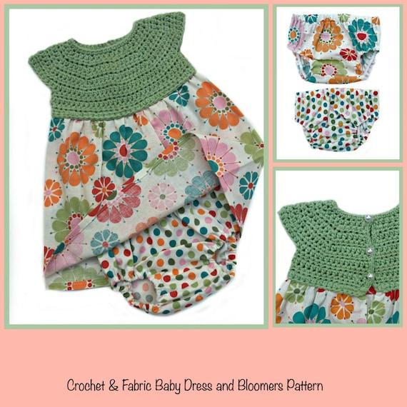 Baby Dress Crochet Pattern Baby Crochet Patterns for girls