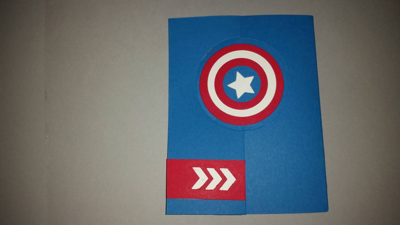 Captain america birthday card captain america shield birthday description captain america birthday card bookmarktalkfo Images