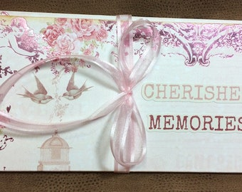 Prima Love Story, Romantic, Floral Tri-fold Wallet Album
