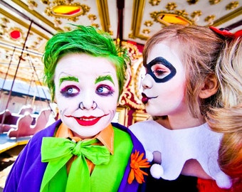 Halloween Costume Harley Quinn Costume by Atutudes Harley Quinn Halloween Costume | Kids Girls Costume