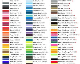 1 yard of ThermoFlex Plus Heat Transfer Vinyl- ships within 24 hours!  LOTS of colors to choose!