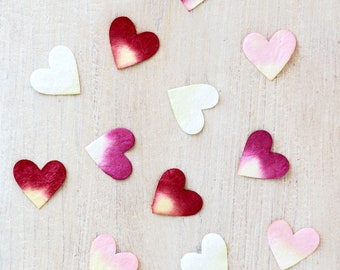 Paper Hearts for Confetti & Table Decoration | Wedding, Party, Scrapbooking, Card Making, Toppers, Craft