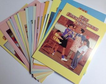 Vintage Baby-Sitters club postcards,