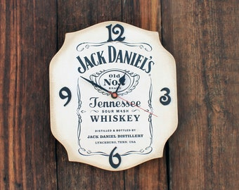 "Wall clock ""Jack Daniels"""