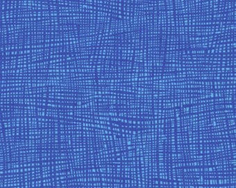 Kaufman - Valori Wells - Musings - Grid - Royal Blue