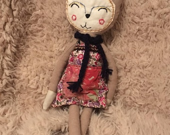 Cloth Doll - Cleo the Cat