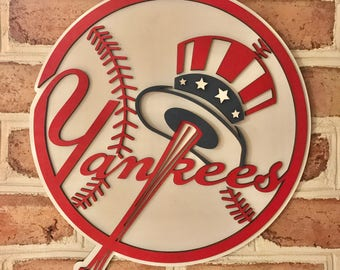 New York Yankees limited edition 3d man cave wall art kids bedroom