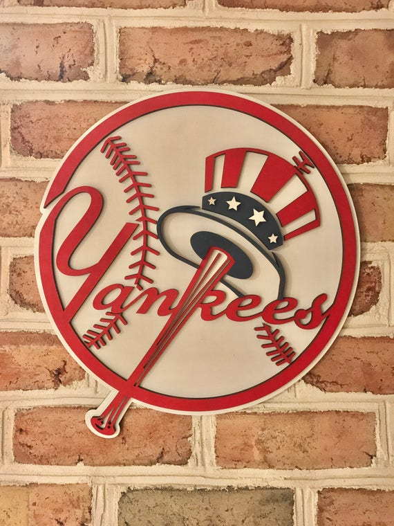 New York Yankees limited edition 3d man cave wall art kids
