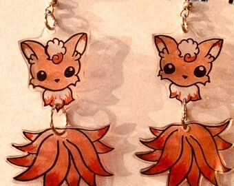 Nine-Tailed Fox Earrings