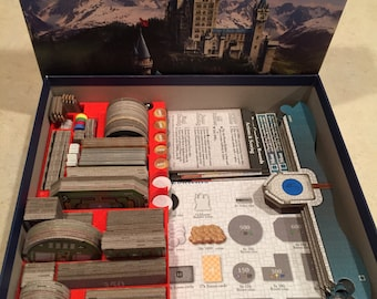 Castles of Mad King Ludwig Component Storage (includes Secrets Expansion storage)