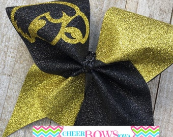 2-color Iowa Spirit Bow