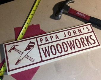 Papa's Work Shop