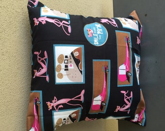 Pink Panther Cushion Cover
