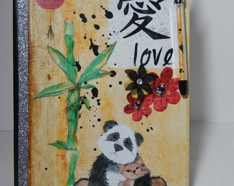 Love - Altered Composition Notebook / Journal