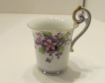 Wales China - Hand Painted - Demi Cup