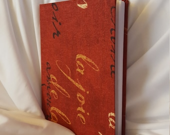 Red Calligraphy Journal