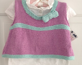 Baby Girl Swing Top with Bow