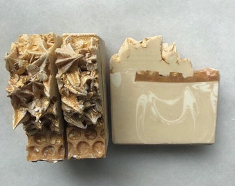 Soap Oatmeal Milk & Honey Cold Process Soap, Artisan Soap, Handcrafted Soap