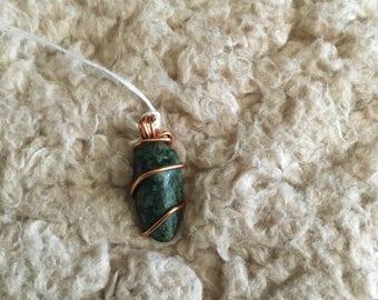 Tree Agate in Copper - Small