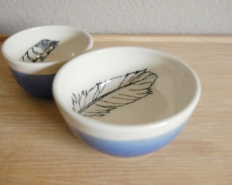 feather bowl set