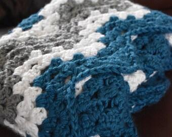 Made to Order Chevron Crochet Baby Blanket