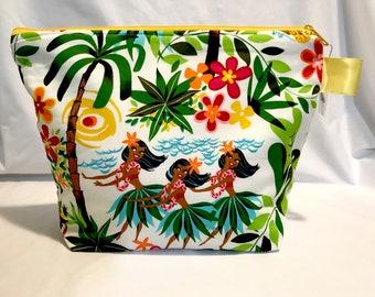 Large Project Bag - Hula Ladies