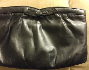 Leather Clutch - no brand