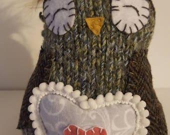 Olivia Folk Art Owl