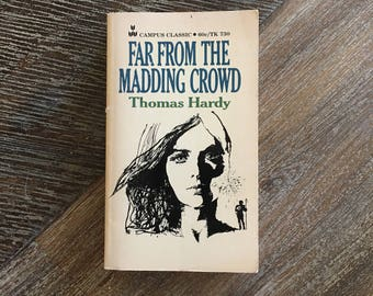 Far From the Madding Crowd by Thomas Hardy (Scholastic, 1968) TK-730