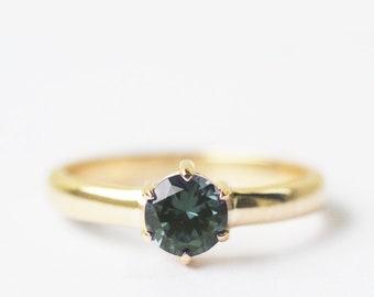 color change garnet ring, 14k gold ring, promise ring, engagement ring, girlfriend ring, girlfriend gift