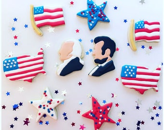 President's Day Patriotic Cookie Assortment